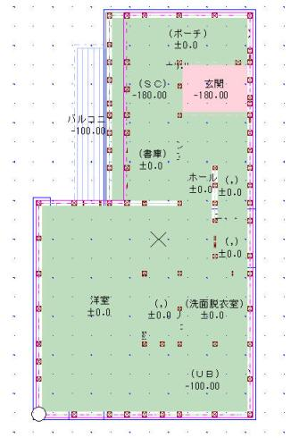 FX変換後平面図