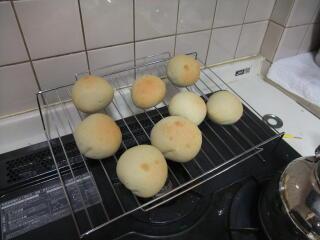 ばななそばパン