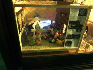窓のなかのくらやみ祭り