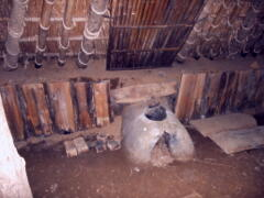 竪穴式住居の土間